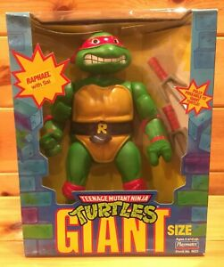 """Giant Size TMNT RAPHAEL with Sai 13"""" Action Figure Playmates BRAND NEW in Box"""
