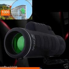Super High Power 40X60 Portable HD OPTICS BAK4 Night Vision Monocular Telescope