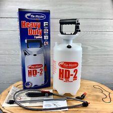 Flo-Master 2 Gal. Heavy-Duty Durable Multi Setting Nozzle Handheld Pump Sprayer