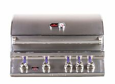 Bonfire 4 Burner Stainless Steel Drop-in Built-in BBQ Grill