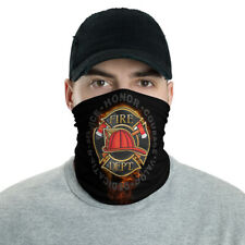New Fire Departmentt Unisex Face Mask Neck Gaiter Black One Size Free Shipping
