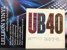 UB40 Geffery Morgan LP Album Vinyl Record LPDEP6 A1U/B1U Reggae 80's