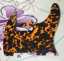 For US Fender 62' standard Tele Guitar Pickguard , 4 Ply Leopard Print
