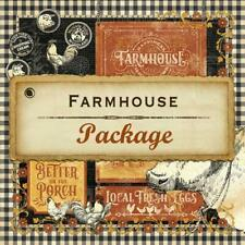 Graphic 45 FARMHOUSE Complete Package - Kit, Patterns/Solids Pad, 8x8 Pad, Etc.