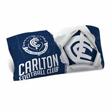 Carlton Blues 2018 AFL Quilt Cover Set Doona Single Double Queen King Pillowcase