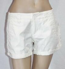 the athletic dept Brand White Cuff Cargo Shorts Size 8 BNWT #se16