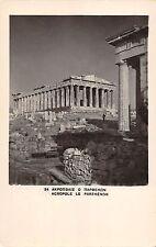 Br46408 Acropole le parthenon Greece