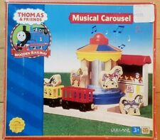 Thomas & Friends Wooden Railway ~ Musical Carousel ~ Extremely Rare 2002 HTF!