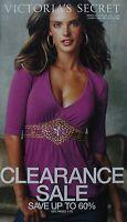 ALESSANDRA AMBROSIO March Clearance 2006 VICTORIA'S SECRET Catalog