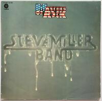 STEVE MILLER BAND MASTERS OF ROCK LP CAPITOL GERMAN PRESSING NEAR MINT PRO CLEAN