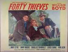 FORTY THIEVES,William Boyd,Andy Clyde,Jimmy Rogers,lc #2, 818