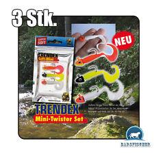 TRENDEX Mini Twister Set 4 cm/2 gr/rot,weiß,feuergelb