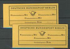 Berlin Markenheftchen 5 b und 5 c  postfrisch Deckel lose (B02046)