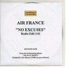 (294D) Air France, No Excuses - DJ CD