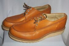 VTG 60's MOC TOE DUNHAM'S TYROLEANS WORK SHOES 12 D BOOTS HIPSTER RETRO COOL !!!