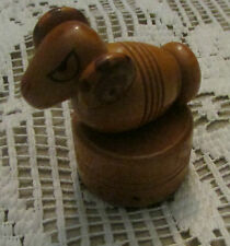 VINTAGE wood ram pencil sharpner animal pencil sharpner