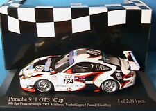PORSCHE 911 GT3 CUP #124 SPA 2005 MATTHEUS MINICHAMPS 400056224 1/43 GEOFFROY