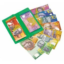 *NEW* A Wallet of Australian Based Pretend Play Money - 100 Sized Notes