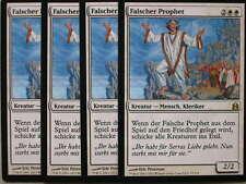 XXX 4x falso profeta false profeta tedesco comandante (Cleric White) NM/MINT