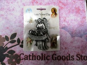Guardian Angel Protect my Granddaughter - Auto Visor Clip -  USA made