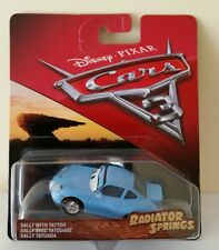 NEW DISNEY CARS 3 DIECAST - RADIATOR SPRINGS SALLY WITH TATTOO