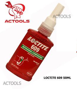 Loctite 609 50ml High Strength Threadlocker Adhesive USA Shipping ACTOOLS