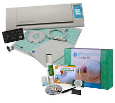 Silhouette Cameo V2  Machine & Glass Etching & Vinyl Starter Kits