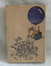 Shower of Flowers Wood Mounted Rubber Stamp Margaret Sherry 1691K Penny Black