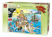 1000 Piece Funny Comic Cartoon Capers Jigsaw Puzzle - ROCKING STONES 05221