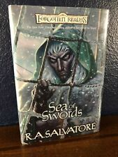 Forgotten Realms SEA OF SWORDS Salvatore FIRST EDITION Dungeons & Dragons HC DJ