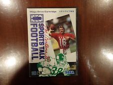 Sega Mega Drive Joe Montana II Sports Talk Football Japanese Version Complete