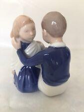 """Vintage Copenhagen Denmark Porcelain Figurine #2367 Bing Grøndahl """"Hairdresser�"""