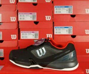 Wilson RUSH PRO 2.5 2019 Tennis Shoes Black / Red Size 14 Ortholite