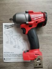 "New Milwaukee M18 FUEL 3/8"" drive Mid-Torque 600 ft-lb Impact Wrench #2852-20"