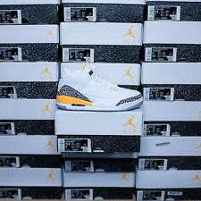 Jordan 3 Retro Laser Orange (W) Size 9W 7.5M, DS BRAND NEW