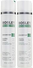 BOSLEY BOSDEFENSE SHAMPOO AND CONDITIONER FOR NATURAL HAIR 300 ML