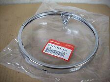 NEU Chromring Scheinwerfer / Rim Headlight Honda XBR 500 - PC15, GB 500 - PC16