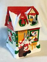 Vintage Russell Stover Warner Brothers Candy Kitchen 1997 Christmas Coin Bank