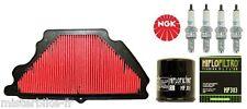 Kit Entretien Révision filtre à air huile bougie Kawasaki ZX-6R 600 2007-2008