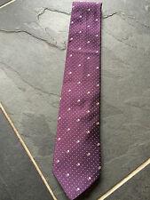 PAUL SMITH 100% SETA - pois e cravatta floreale - 9cm lama