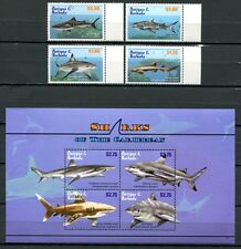 ANTIGUA 2010 Haie Sharks Fische Fishes Poissons Pesci  4755-63 **