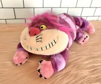 "Cheshire Cat 14"" Plush Stuffed Animal - Vintage Disney Store Alice in Wonderland"