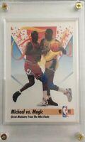Michael Jordan/Magic Johnson 1991 Skybox Basketball Card-Mint Condition!!