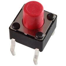 10 Diptronics DTS-63R-V Mini-Taster 12V 50mA 1xEIN 2,6N 6x7,0mm liegend 855618