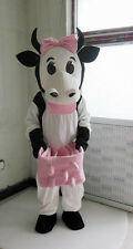 Professional selling lovely dairy cow adult Mascot Costume fancy dress