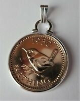 Vintage Jenny Wren Farthing Pendant Mount PICK YOUR OWN DATE: