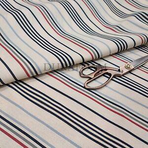 "Classic Stripe Design Ticking Fabirc - 100% Cotton - (87"" Wide) - Sold by Metre"