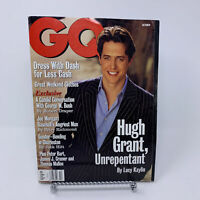 GQ Magazine October 1998 Hugh Grant