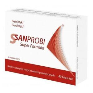 SANPROBI SUPER FORMULA 40 capsules