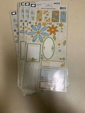 Lot of 6 Cloud 9 Design Hannah's Story Cardstock Thought Stickers New
